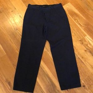 Navy Brooks Brothers Chinos